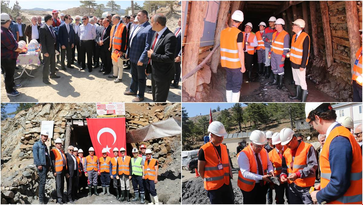 A Visit  from Governor Yılmaz to Alser Madencilik